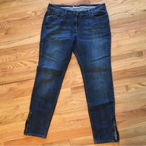 Boden ankle zipper ankle jeans size 12